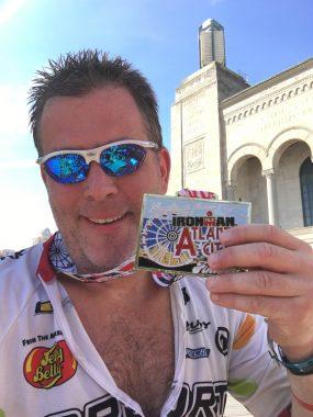 Ironman 70.3 Atlantic City - Finisher!