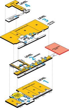 Javits Floor Plan