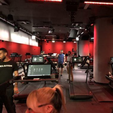 The Peloton Tread Studio