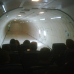 About to take off - this is the inside of G Force One!! on TwitPic